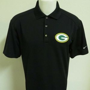 S-2XL Green Bay Packers Nike Dri-Fit Mens 84A Polo